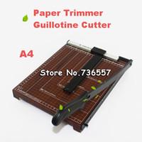 Wholesale A4 B5 A3 A5 guillotine cutter phone film cutter machine photo cutter paper cutter machine paper trimmer