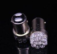 auto contact - 10PCS BAY15D LED DC v Auto Turn Brake stop Tail Parking Light double contact xenon white