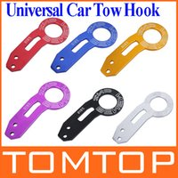 Wholesale 6 Colors BENEN Universal car Rear Tow Towing Hook set for most Car Auto Trailer Ring drop shipping