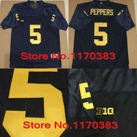 Cheap Factory Outlet- 2015 New Style Michigan Wolverines Jerseys #5 Jabrill Peppers jersey Stitched American College Football Sports Jerseys