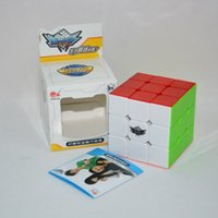 Wholesale Magic Cube x3x3 Cyclone Boys puzzle cube Toy Professional Smooth Speed Cube Twist Puzzle x3 mm Rubik s Cube