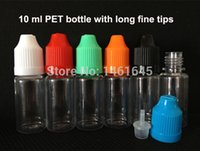 plastic bottles and containers - Fast delivery PET ml e liquid bottles With Childproof Cap and Long Tip eye drop bottle container plastic bottles