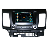 Wholesale OEM for MITSUBISHI LANCER EX In Dash car radio GPS navigation free map car DVD player Ipod bluetooth Digital TV rear camera