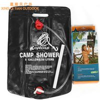 Wholesale Outdoor products camping hiking cleaning kit bag bath field l shower Outdoor bath shower bag