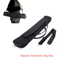 Wholesale Oxford Cloth Saxophone Sax Gig Bag Case with Adjustable Single Shoulder Strap for Soprano Saxophone Top Quality