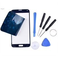 Wholesale 2015 New Arrival LCD Display Touch Screen Replacement With Withdrawal Tools for Samsung Galaxy S5 i9600 SV07