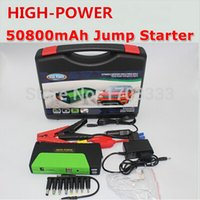 Wholesale Super High Power mAh Car jump starter auto vehicle engine booster eps start rechargeable battery power pack supply charger