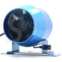 amd fan controller - 4 quot mm Duct inline Fan w Speed Controller VAC CFM IP44 metal frame