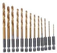 Wholesale Hot Sale Hex Shank Quick change Cobalt Drill Bit Set Multi Bits