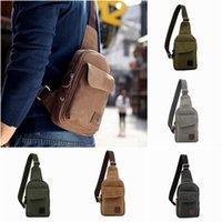 Wholesale Korea Style Canvas Travel Messenger Bag Outdoor Sports Cycling Shoulder Bag Colors Choose GPG