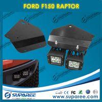 Wholesale 2Pcs F150 Raptor Brackets Accessories Led Offroad Lamp Bar Brackets use for Fog Lamp Fog lights LED Headlights for Ford