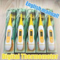 Wholesale Export product Baby and adult Health Monitors Household LCD Electronic Digital Thermometer body English packing instructions Mercury free