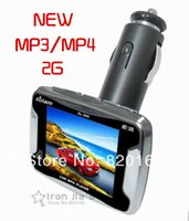 Wholesale 1 quot LCD Mp3 Player Car Audio Player Car Video Players FM TV OUT MP3 MP4 MP5 Realplayer Player Gift Car Styling