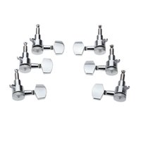 Wholesale Professional Guitar Parts Chrome Lock Sealed Guitar Tuning Pegs Tuners Machine Heads R L for Electric Acoustic Guitar I868