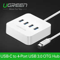 Wholesale Ugreen USB Type C Ports OTG HUB with Led Indicator USB C Splitter to USB female for Macbook Xiaomi4C Le Phone