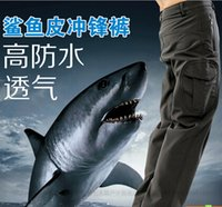 Wholesale High quality Men s Clothes TAD Hiking Pants Lurker Shark skin Outdoor Military Tactical Hiking Pants Waterproof Sports Army camouflage Pant