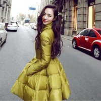 Wholesale Winter jacket women New Fashion Women s Down Coat Ladies thick Long Slim Cotton padded Jacket Outerwear Casual Parka