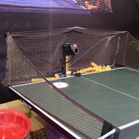Wholesale 2040 automatic machine to serve cycle on the ball Table tennis ball machine