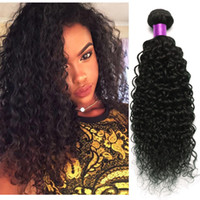 malaysian curly hair - Mink Brazilian Curly Virgin Hair Wefts Brazilian Virgin Hair Deep Wave Brazilian Kinky Curly Virgin Hair Human Hair Weave Curly On Sale