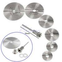 Wholesale HSS Rotary Circular Saw Blades Tool Cutting Discs Mandrel For Dremel Cutoff