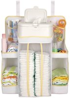 Wholesale Baby dexbaby white diaper nursery organizer storage