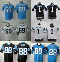 kids jerseys - Panthers Youth Greg Olsen Luke Kuechly Cam Newton Elite Kids Stitched Jerseys Number Black White Blue