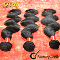cheap hair - 6A Cheap Brazilian Hair Bundles Remy Human Hair Weaves Unprocessed Virgin Hair Body Wave Weft Indian Malaysian Peruvian Hair Extensions