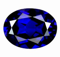 Wholesale Unheated ct Top Royal Blue Sapphire x10mm Oval Shape VVS Gem