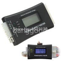 Wholesale PC Computer Top Quality LCD display screen Pin ATX BTX ITX HDD CDROM SATA Digital Power Supply diagnostic Tester