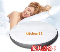 Wholesale Special Full set price Inflatable Water bed mattress Thermostat Water Pipe Bed Cover Pillows Round Romantic