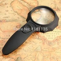 Wholesale New LED Light HandHeld Illuminated pocket Reading Magnifier Loupe Glass Lens