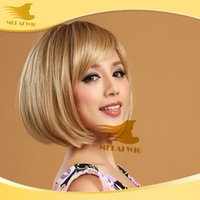 Cheap Fashion Short BOBO Wig Sexy Sweet Wig Fashion Women's Party Wigs Japan Heat Resistant fiber hair