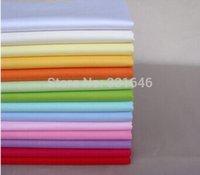 Wholesale 15PCS cm Plain Colour Series Cotton Fabric Quarter Bundle Telas Patchwork Tilda Diy Quilting Baby Toy Sewing Bedding Tecido