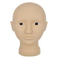 Wholesale Hot Sale Natural Rubber No Harm Tattoo Model Head Permanent Makeup Practice Mask Skin