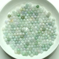 Wholesale A jade bead jade beads a genuine DIY mm bead jewelry free drop shipping