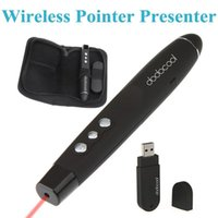 Wholesale Fashion Compact Design in1 Wireless Laser Pointer Presenter Pen Transmitter with USB Receiver Portable for Meeting Speech etc