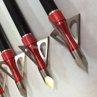 Wholesale 3pcs hunting crossbow broadheads also used for archery compound bow arrow heads recurve arrow points
