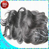 big clearance sale - Warehouse clearance human hair weave A malaysian body wave full thick bundles summer big sale free DHgate DHL shipping