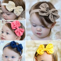 amazing photography - Amazing Children s Hair Accessories New Babys Girls Chiffon Flower Elastic Headband Photography Headbands Hot sale