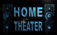 advertising speakers - LK108 TM Home Theater Speaker Hi Fi Audio Neon Light Sign Advertising led panel jpg
