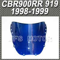 Wholesale Motorcycle Blue Windshield Windscreen For Honda CBR RR RR