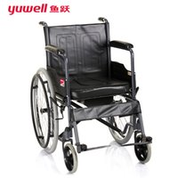 wheelchairs - yuwell H058B old man disability handicapped half lying toilet disabled wheelchair table steel table wheelchairs with toilet