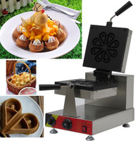 Wholesale Adorable waffle maker Commercial heart shape waffle making machine