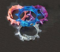 Wholesale Led Light Up Party Blinking Flashing Spike Bracelet Wedding Bar Rave Blinking Flashing Light gift