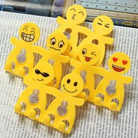 Wholesale 2 pieces Cartoon Smile Face Double Bathroom Wall Tooth Brush Wall Sticky Holders Sucker Stand Suction Hook Yellow Color
