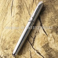 Wholesale Jinhao X750 Valued Silver Grey Fountain Writing Pen Gifts Decoration M Nib Trim