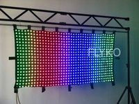 Wholesale meter by meter P50mm Led video curtain dj curtain stage curtain