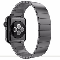 Wholesale Butterfly clasp Lock loop apple watch band stainless steel for Apple Watch bracelet strap mm42mm for iwatch watchband