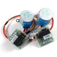 Wholesale 2Set Arduino V Stepper Motor ULN2003 Driver Test Module Board BYJ
