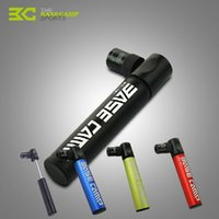 Wholesale Mini Portable Aluminum Alloy Bicycle Air Pump Bike Tire Inflator Super Light Small Accessory Black Blue Green Red